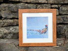 Framed Pheasant Portrait